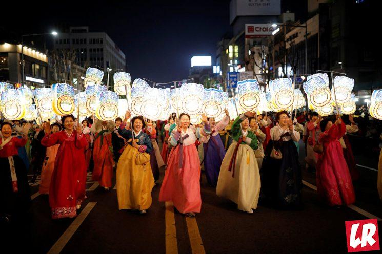 фишки дня - 12 мая, день рождения Будды Корея