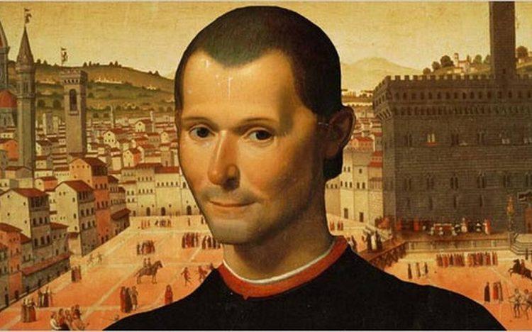 Макиавелли, картина, изображение