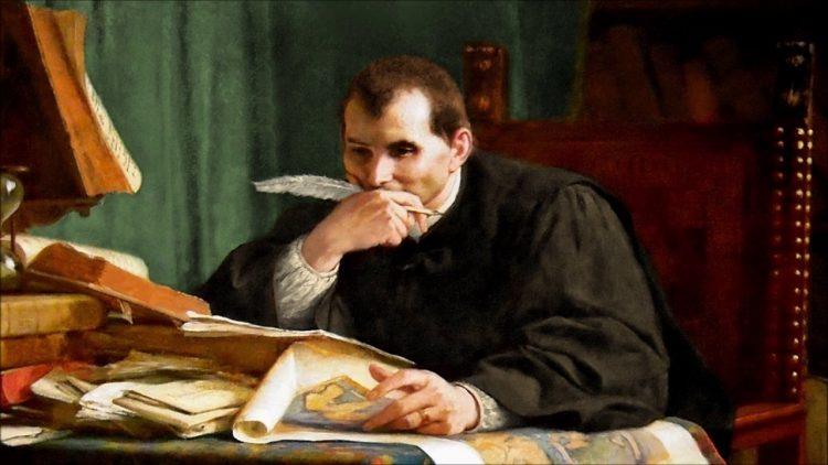 Макиавелли, картина