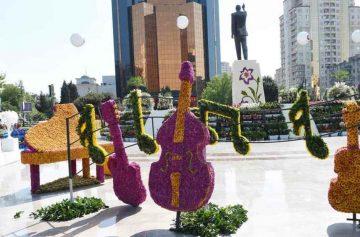 фишки дня, праздник цветов Баку