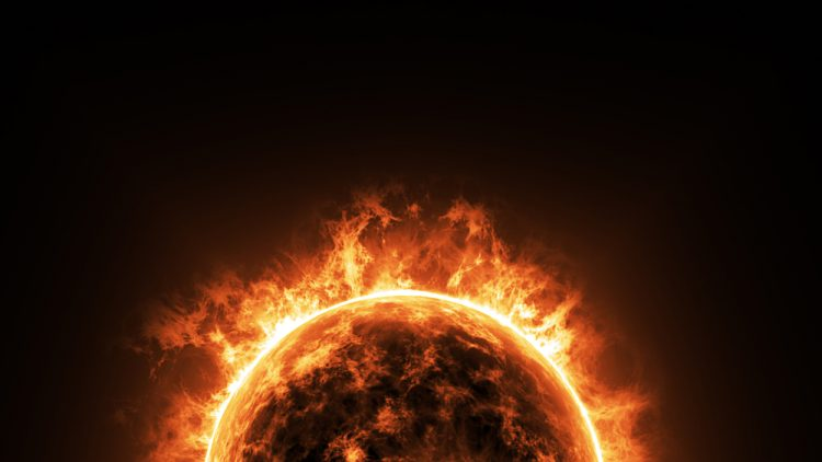 Shutterstock / FOTODOM UKRAINE, солнце, космос