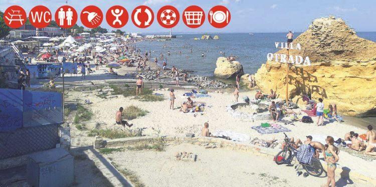 пляжи, Одесса, ОТрада