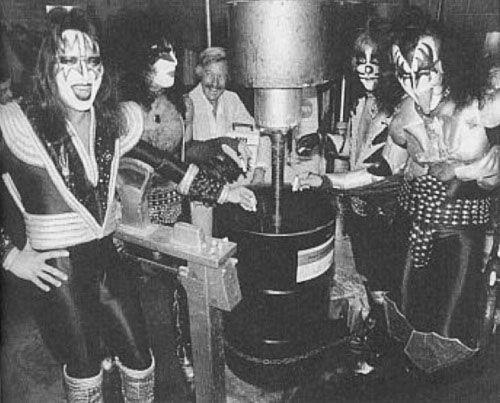 Kiss, старое фото, архив