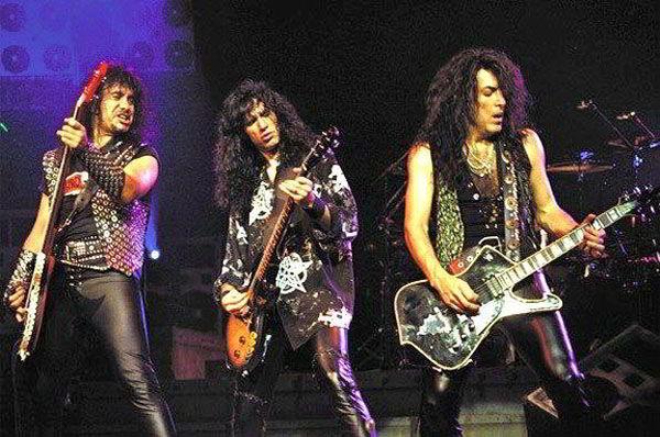 Kiss, выступление, музыка, концерт