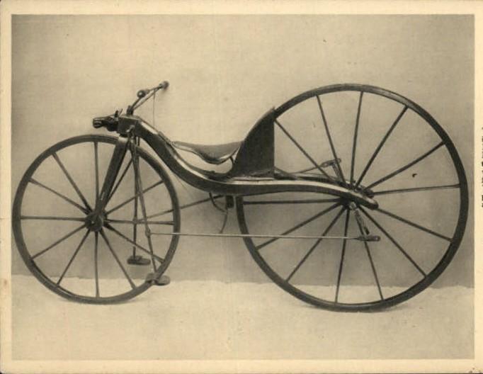 Киркпатрик Макмиллан, велосипед