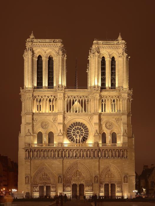 Гюго, Собор Парижской Богоматери, Нотр-Дам