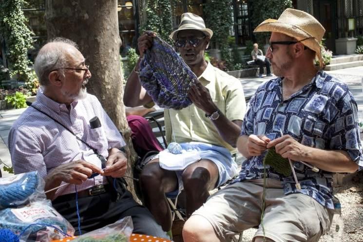фишки дня - 8 июня, день вязания на публике