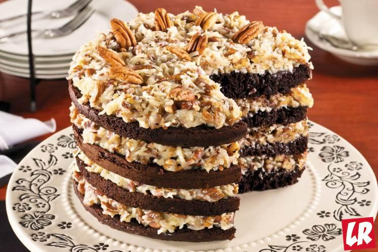 фишки дня - 11 июня, немецкий шоколадный торт США