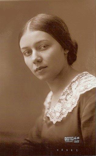 Антонина Пирожкова, третья жена Бабеля