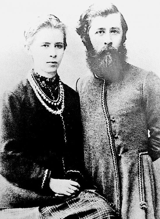 Леся Украинка, Михайло Косач, брат Леси Украинки, литература, брат и сестра