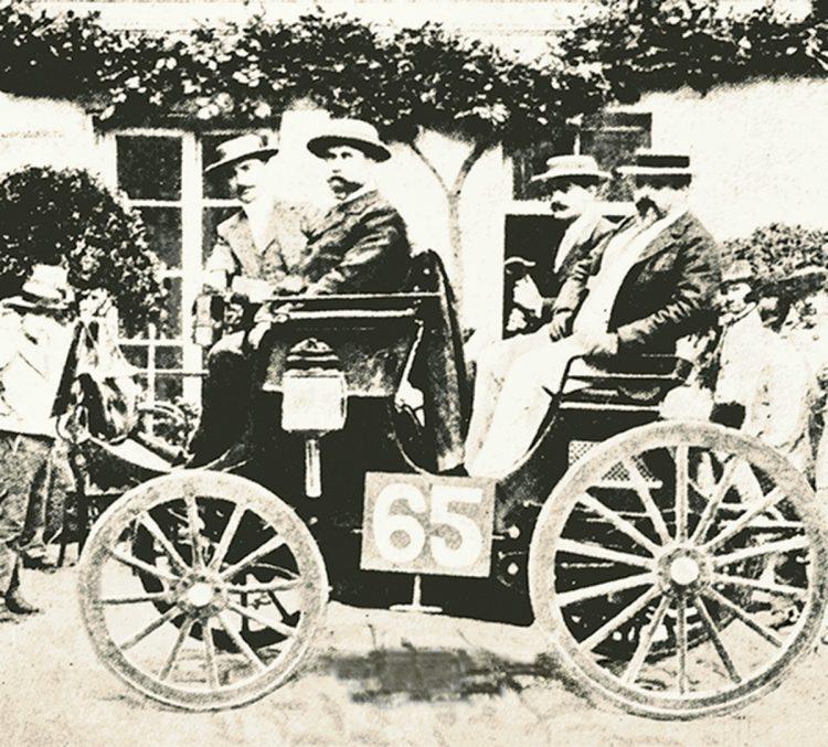 победитель гонки 1894 года во Франции