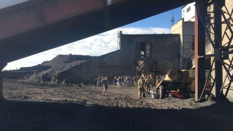 сериал Чернобыль, угольная шахта, где снимали, Украинка, Киев