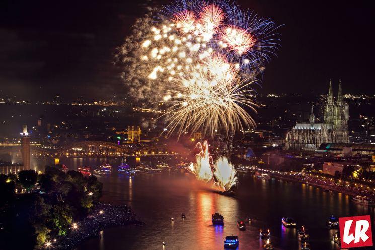 фишки дня - 13 июля, Фестиваль огней Кельн