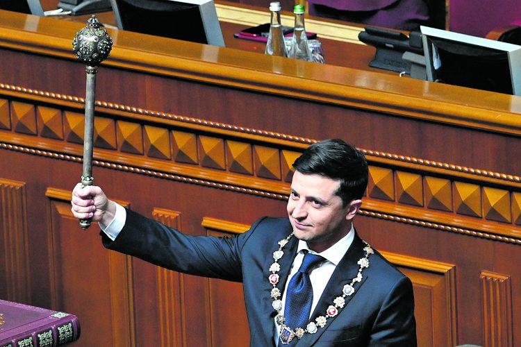 Зеленский, инаугурация, президент Украины