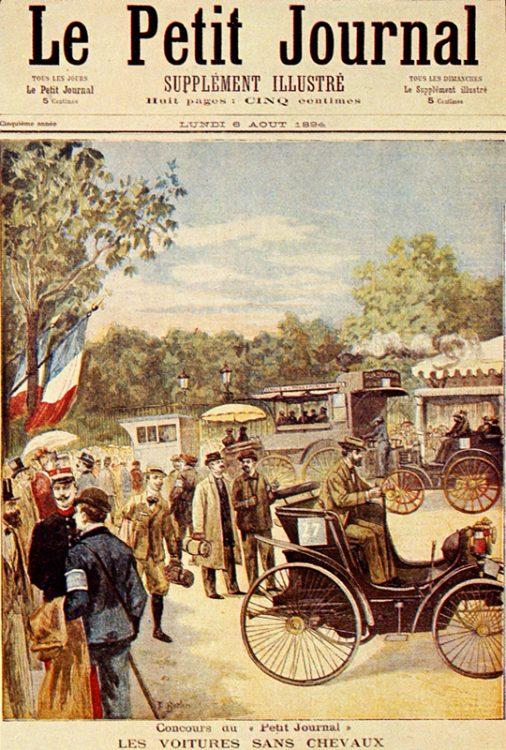 Paris-Rouen Trail, газета, обложка, гонки