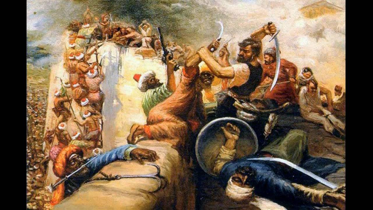 Азов и казаки – легендарный Байда и наши первые пограничники