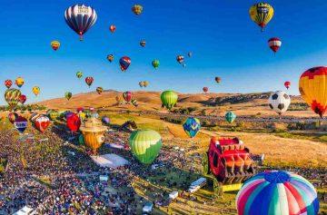 фишки дня - 26 июля, фестиваль воздушных шаров Нью-Джерси