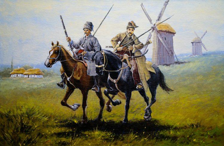 казаки, Запорожская Сечь, ветряки