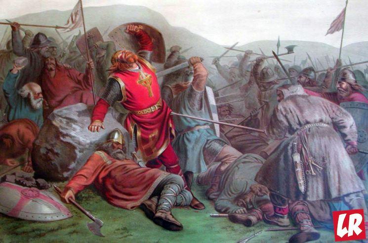 фишки дня - 29 июля, день короля Олафа, битва при Стиклестаде