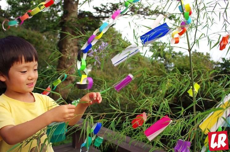 фишки дня - 7 июля, фестиваль Танабата Япония
