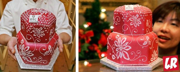 фишки дня - 20 июля, День торта, самый дорогой торт