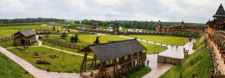 парк киевская русь, панорама