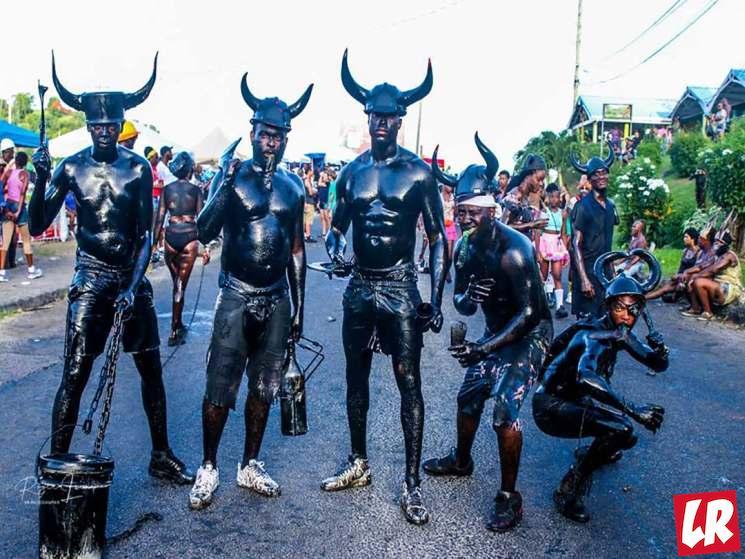 фишки дня - 12 августа, джаб-джаб, карнавальный понедельник Гренада