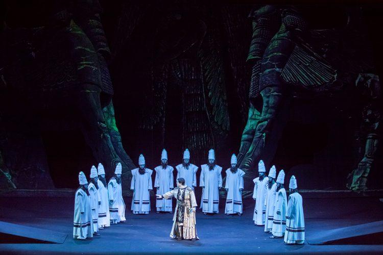 Афиша оперы в сентябре, Набукко