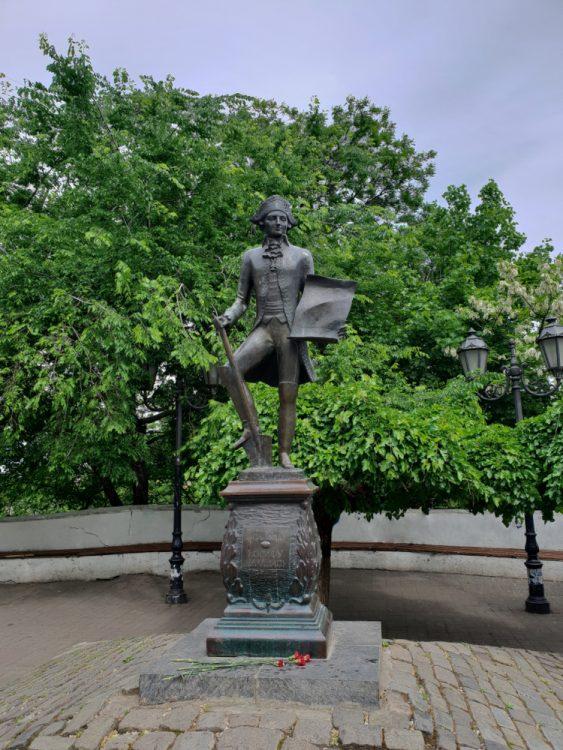 Одесса, де Рибас, Дерибасовская улица, История Одессы