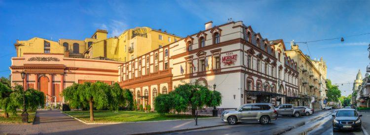 Одесса, гостиница Моцарт