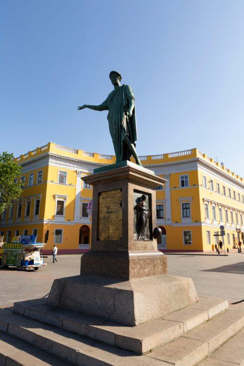 История Одессы, Дюк, Приморский бульвар
