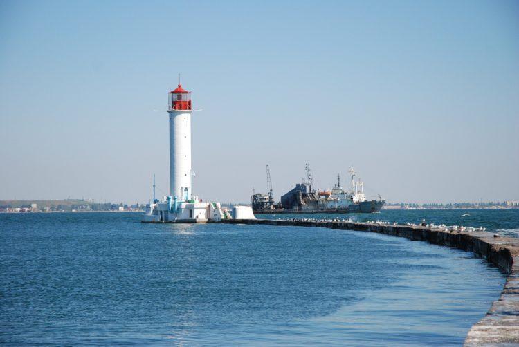 Одесса, маяк, море
