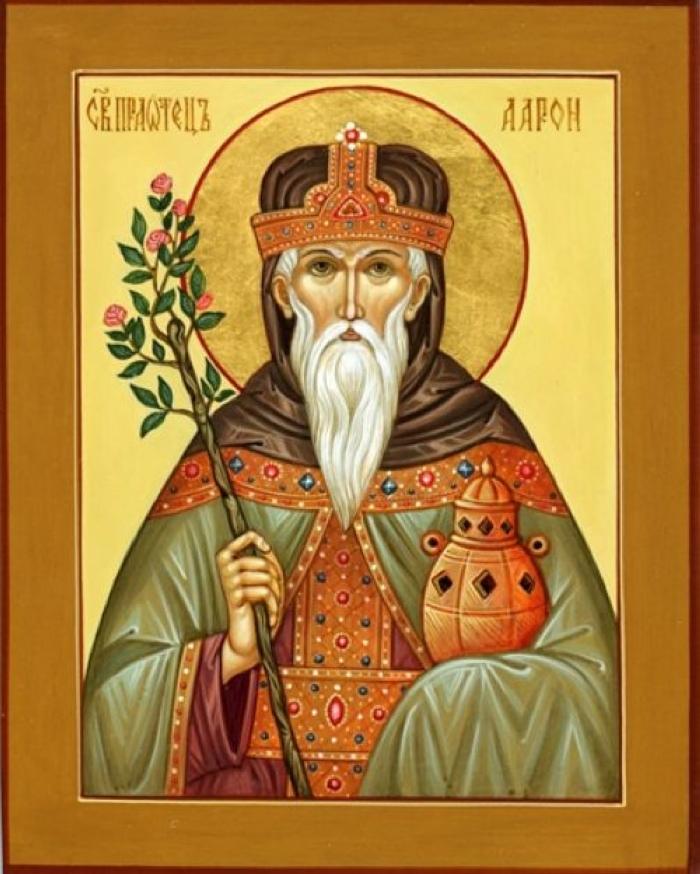первосвященник Аарон, икона