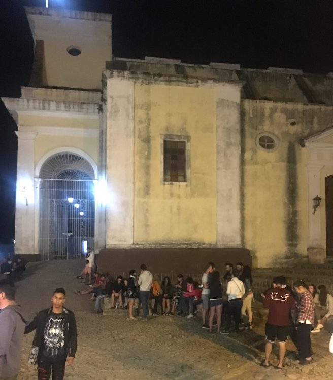 Куба, репортаж, остров несвободы, точка доступа в интернет