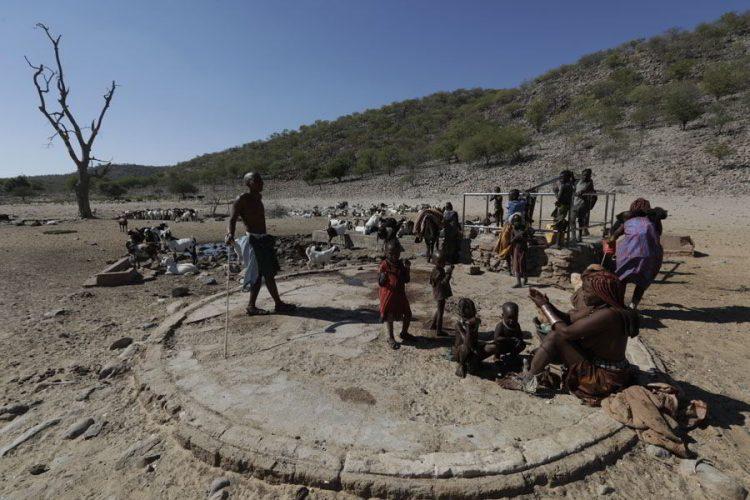 выжженная земля химба, жизнь в Африке
