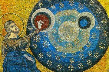 новолетие, икона, мозаика, искусство, религия, Новый год в православии