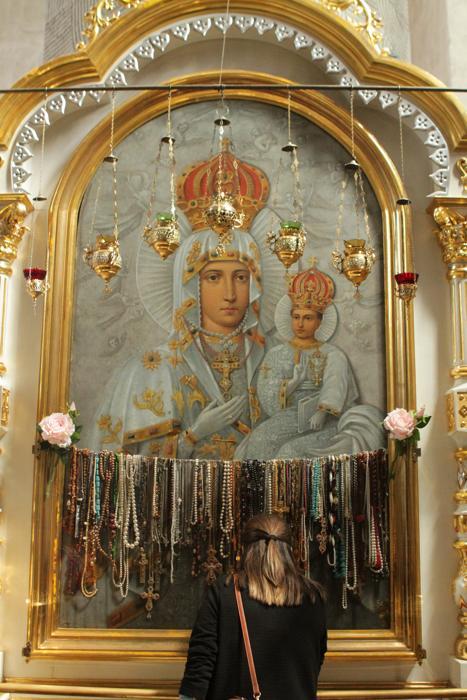 Супрасльский монастырь, святыня, Одигитрия