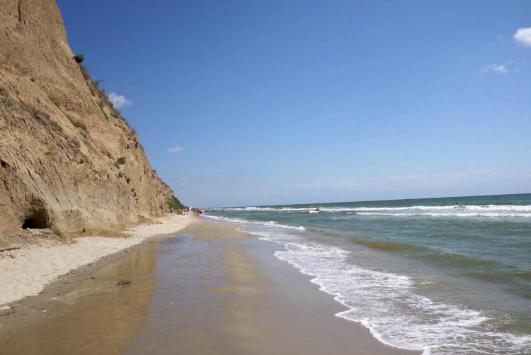 Курортное, пляж, отпуск, Черное море