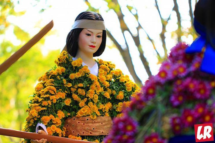 фишки дня - 9 сентября. День хризантемы Япония