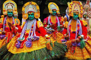 фишки дня, фестиваль Онам Индия