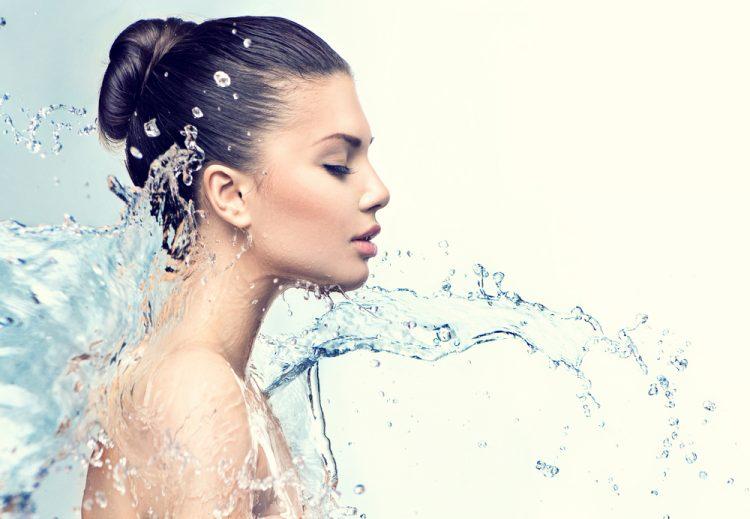 проблемная кожа, уход за кожей лица осенью, красота, вода