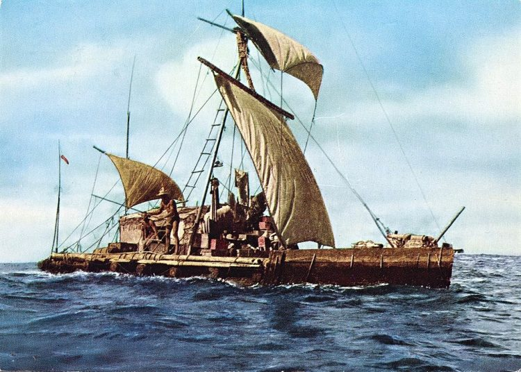 Экспедиция Kon-Tiki 1947, Хейердал