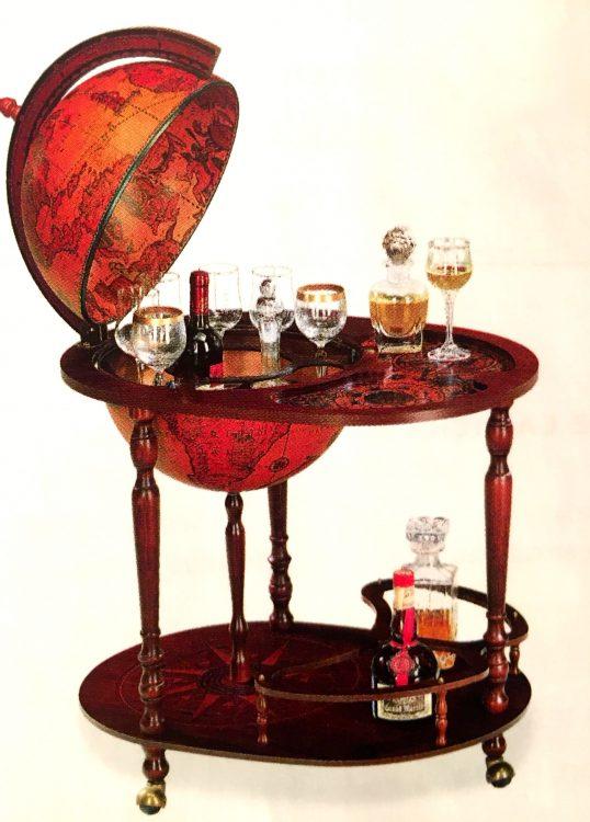 пивбар, алкогольный бар, квартира, глобус