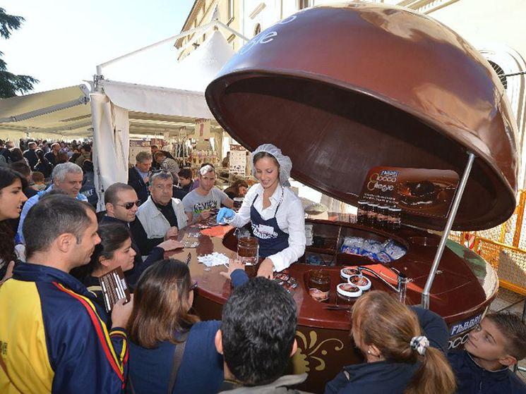 фишки дня - 18 октября, фестиваль шоколада Перуджа