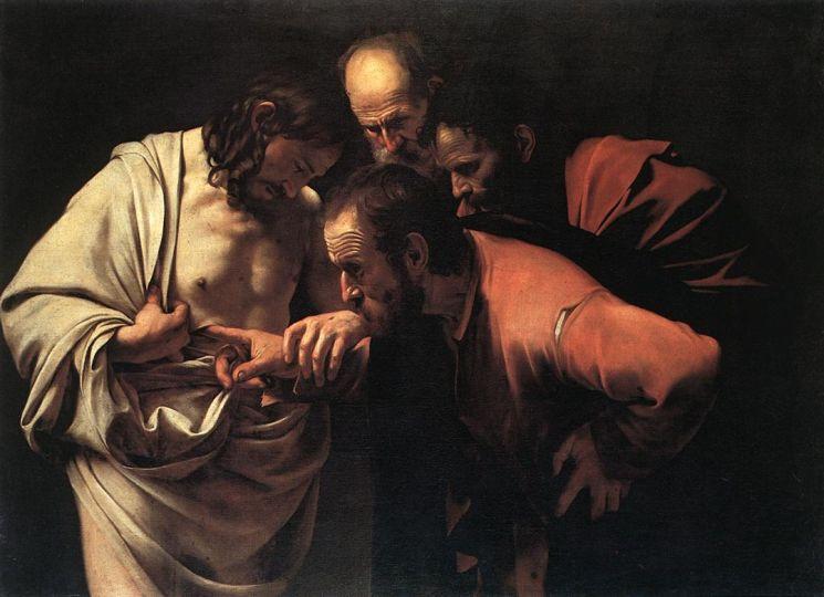 фишки дня - 19 октября, день апостола Фомы, Караваджо