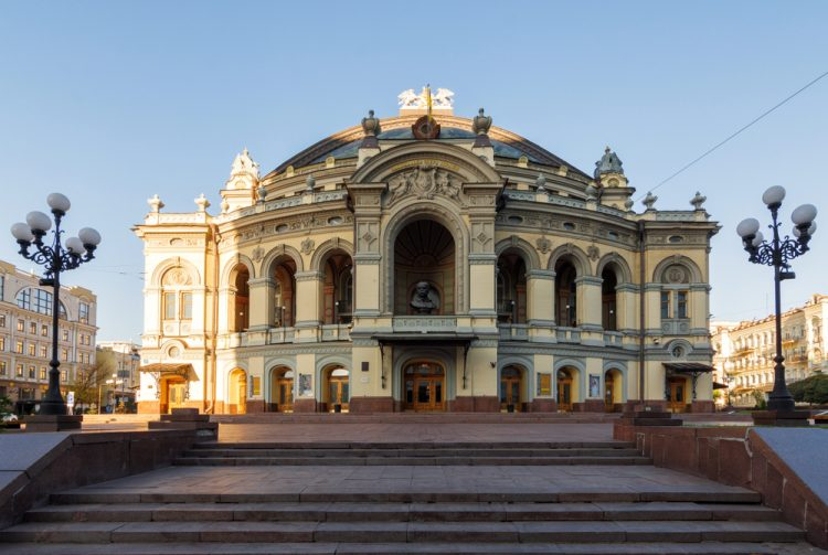 Национальная опера в октябре 2019Ю, афиша, Киев