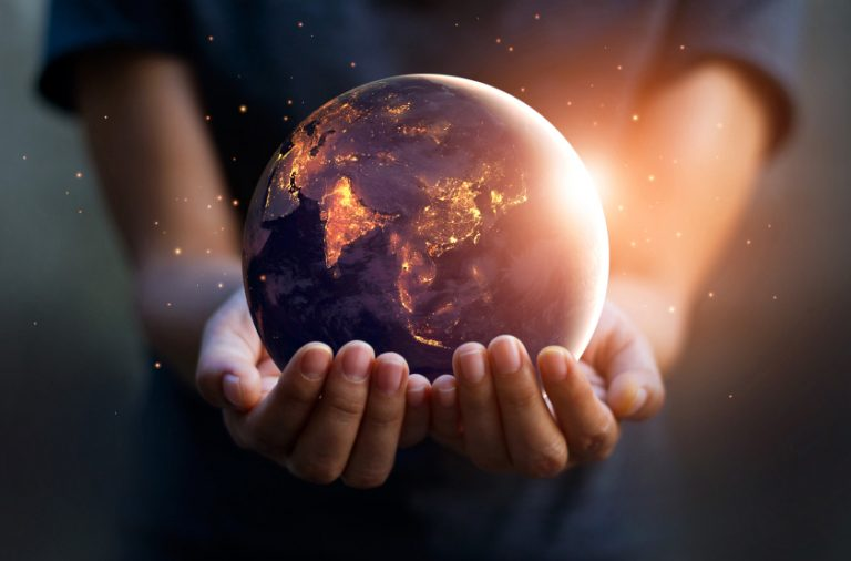 планета Земля, глобус
