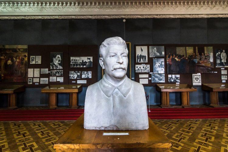Сталин, Бажан, история