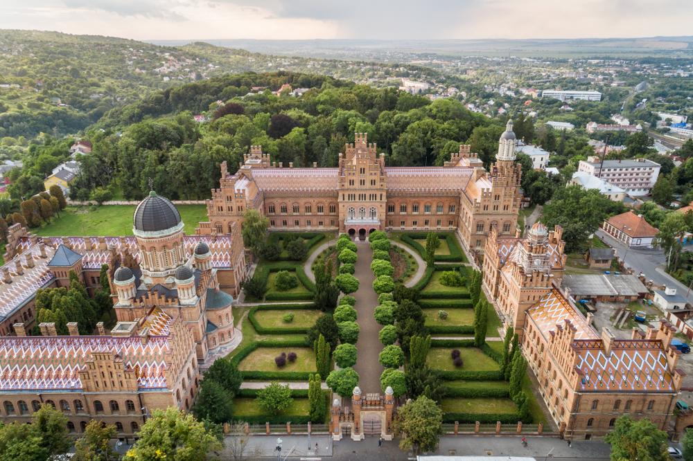 Отдых в Украине 2020, Черновцы, университет, достопримечательности, что посмотреть