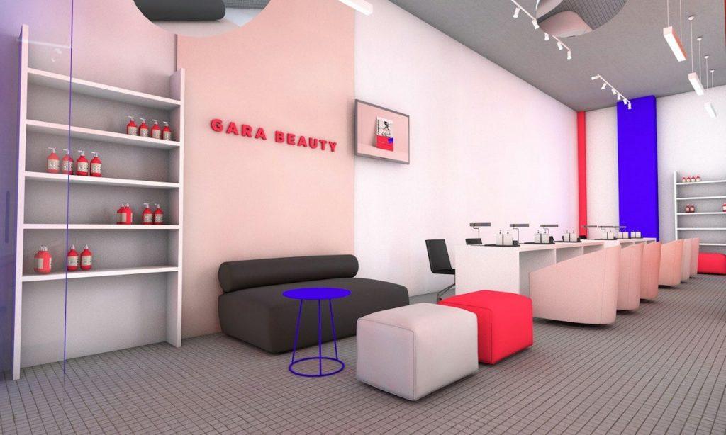 Gara Beauty, салон красоты, Гарик Корогодский, Дрим Таун, Киев, Украина, интерьер